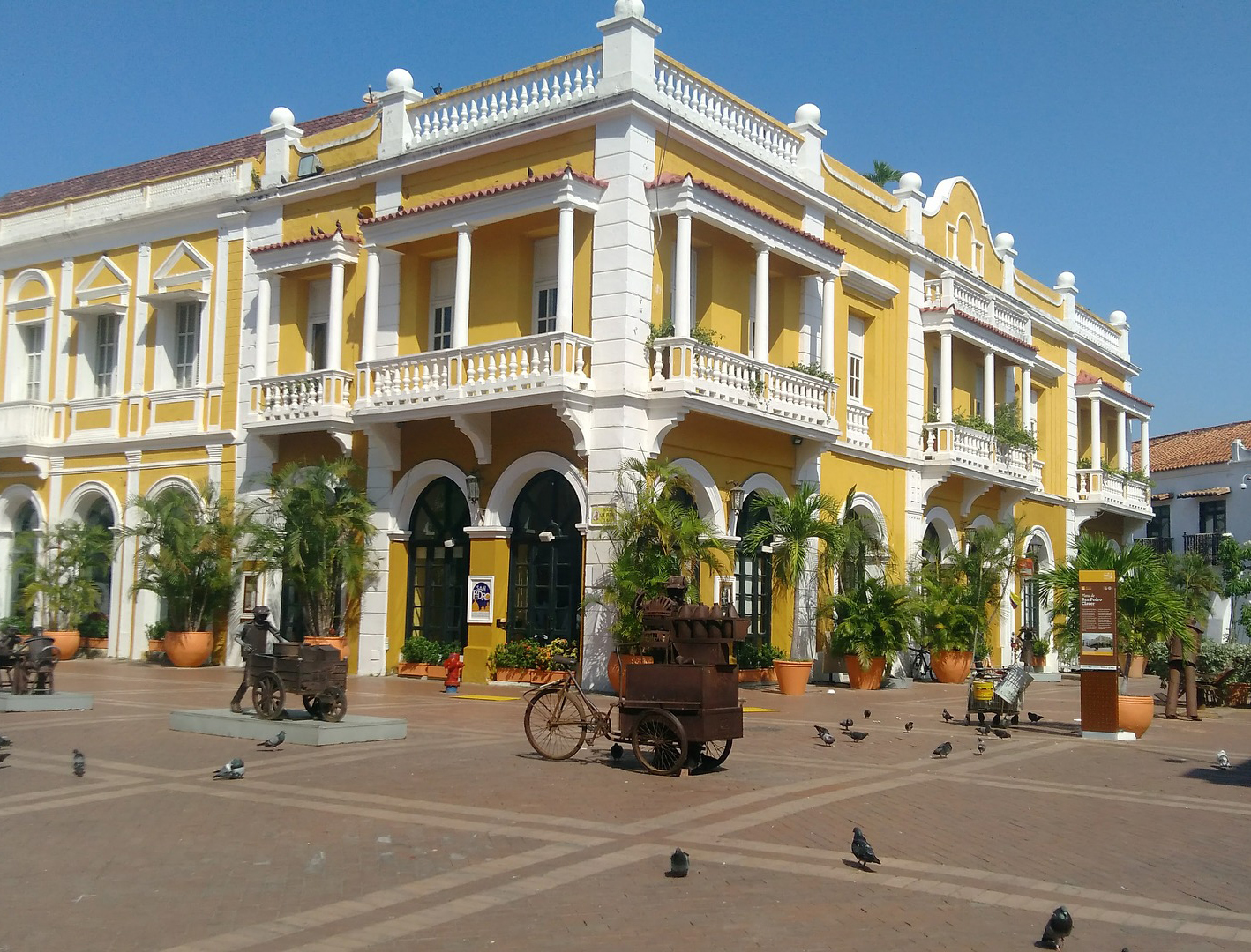 Saint Pedro Claver Square